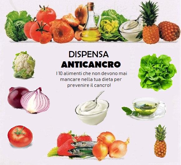 I 10 cibi anticancerogeni che non devono mai mancare nella dieta
